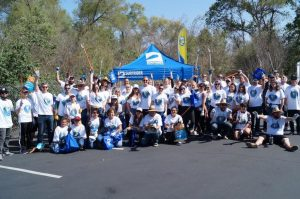 The barnes firm san diego riverbed cleanup earth day