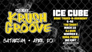 Krush & Groove Concert Lineup - The Barnes Firm Contest Concert Tickets