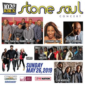 KBLX Stone Soul 2019 Lineup Day 2- Sponsored by The Barnes Firm