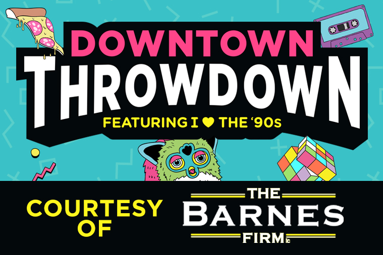 Magic 92.5 Downtown Throwdown Free Tickets Sponsored by The Barnes Firm