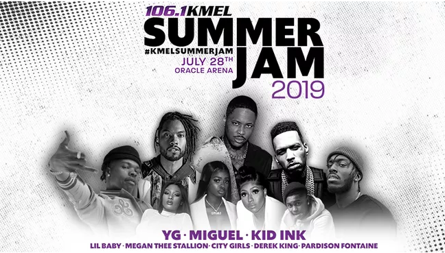 106.1 KMEL summer jam tickets