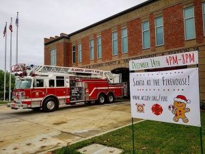Alameda Fire Department Toy Drive