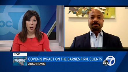 Landon Vivian ABC News The Barnes Firm COVID