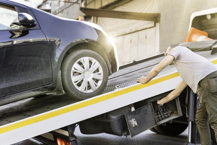 California Car Accident Tow Truck