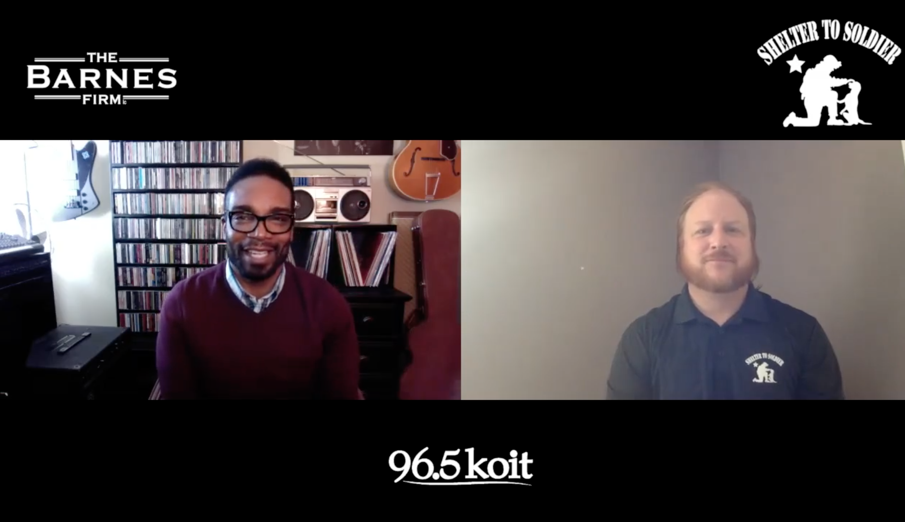 96.5 KOIT San Francisco - Shelter to Soldier Interview