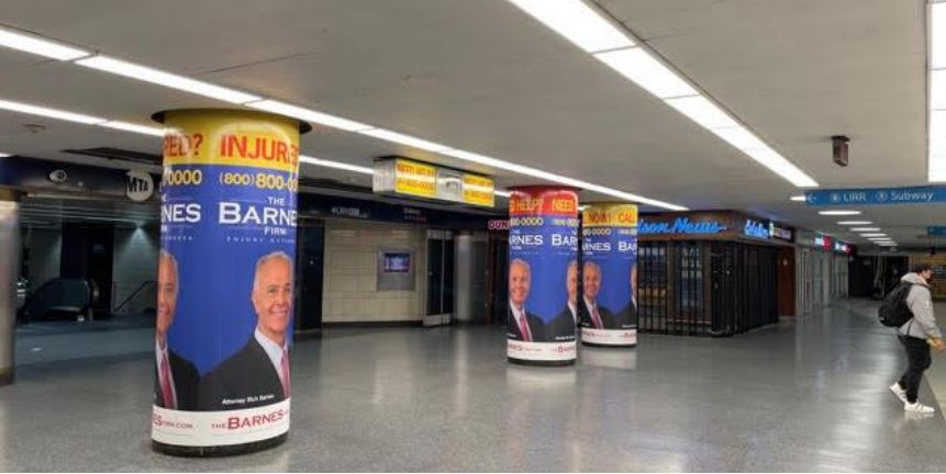 The Barnes Firm Penn Station Contest