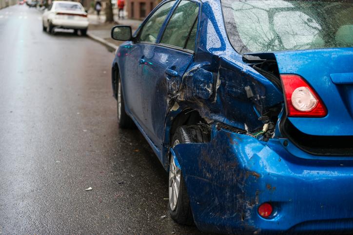a hit car